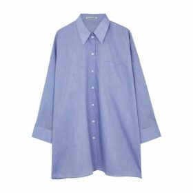 Acne Studios Suky Blue Cotton-blend Shirt
