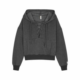 Moncler Blue Logo-print Cotton T-shirt