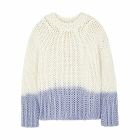 Acne Studios Kirene Two-tone Chunky-knit Jumper