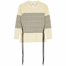 Chloé Cram Striped Cotton-blend Jumper