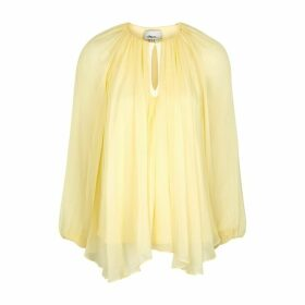 3.1 Phillip Lim Yellow Silk Gauze Blouse
