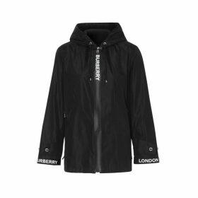 Burberry Logo Tape Econyl Hooded Jacket