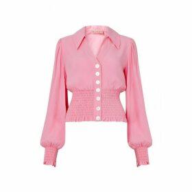 Kitri Michelle Pink Vintage Top
