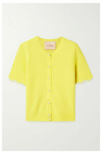 THE Marc Jacobs - Cashmere Cardigan - Yellow