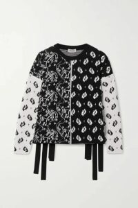 KENZO - Patchwork Jacquard Sweater - Black