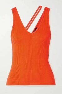 The Range - Suspension Ribbed-knit Tank - Orange