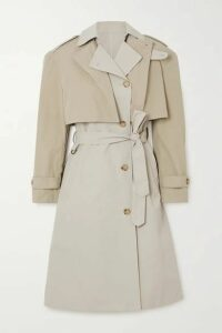 Deveaux - Ramya Cotton-blend Trench Coat - Beige