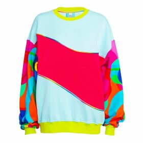 Ace Nayman - Horizontal Slashed Sweatshirt