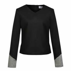 blonde gone rogue - Rejoice Sustainable Blouse - Black