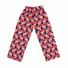 Kith & Kin - Printed Arms Bust Cluster Top