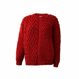 THE KNOTTY ONES - Heartbreaker Knit In Red
