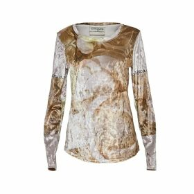 CocooVe - Cocoo Long Sleeve Velour Top In Organic Print