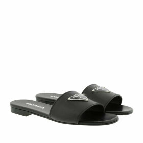 Prada Sandals - Flat Sandals Black - black - Sandals for ladies
