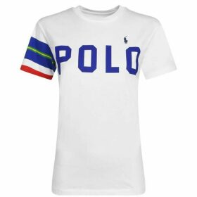 Polo Ralph Lauren Stripe Sleeve T Shirt