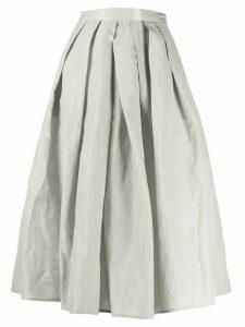 Fabiana Filippi full shape pleated skirt - Grey