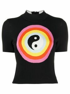 Staud Ying Yang jumper - Black