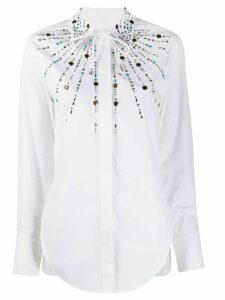 Paco Rabanne embellished shirt - White