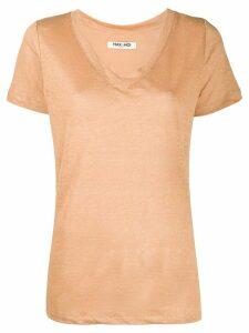 Max & Moi v-neck T-shirt - NEUTRALS
