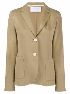 Harris Wharf London jersey blazer - NEUTRALS