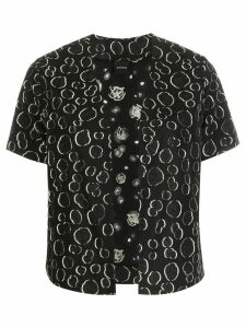 Aspesi all-over pattern jacket - Black