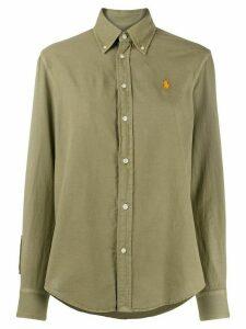 Polo Ralph Lauren logo-embroidered buttoned down shirt - Green