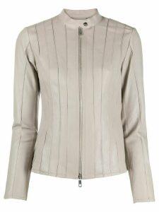 Desa 1972 stitched panel jacket - Grey
