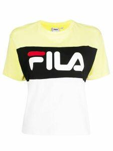 Fila logo printed T-shirt - White