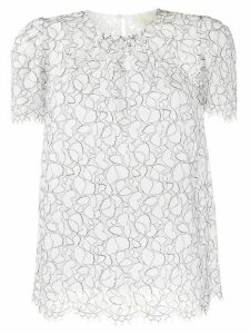 Michael Michael Kors embroidered shift blouse - White
