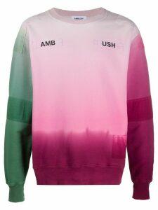 Ambush stitched detail sweater - PINK