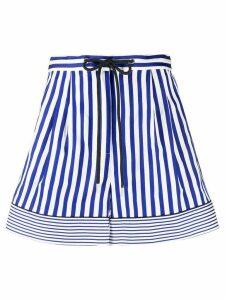 Tommy Hilfiger striped wide-leg shorts - Blue