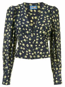 Lhd Roadhouse ditsy floral print blouse - Blue