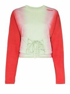 AMBUSH corset waist tie-dye T-shirt - Multicolour
