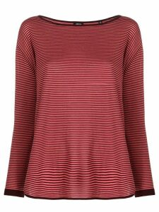 Aspesi horizontal striped jumper - PINK