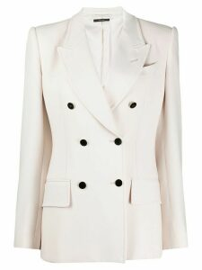 Tom Ford tailored double-breasted blazer - White