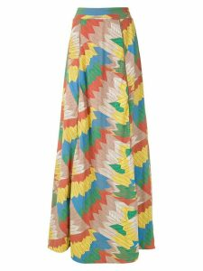Amir Slama printed maxi skirt - Multicolour