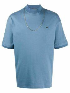 Ambush roll neck T-shirt - Blue