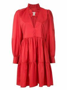 Framed Sevilha short dress - Red