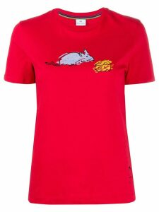 PS Paul Smith mouse and cheese print T-shirt - Red