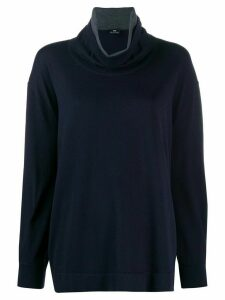 PS Paul Smith roll neck jumper - Blue