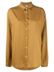 Totême oversized silk shirt - NEUTRALS