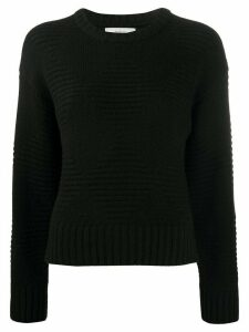 Pringle of Scotland diamond knit jumper - Black