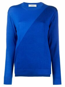 Pringle of Scotland dual-texture jumper - Blue