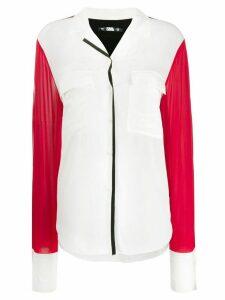 Karl Lagerfeld Karl Pixel blouse - White