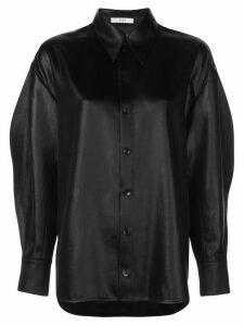 Tibi Celia Origami sleeve shirt - Black