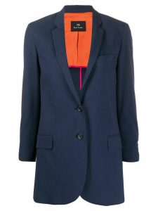PS Paul Smith slim-fit jacket - Blue