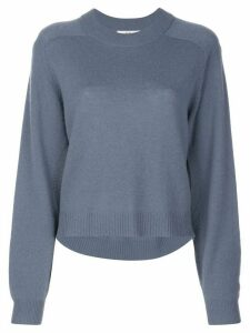 Tibi Cocoon cropped jumper - Blue