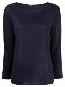 Aspesi round-neck jumper - Blue