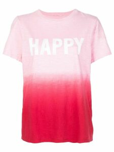 Cinq A Sept Happy tie-dye T-shirt - PINK