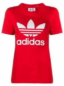 adidas Trefoil logo T-shirt - Red