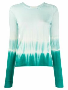 Boon The Shop tie-dye fine knit jumper - Blue